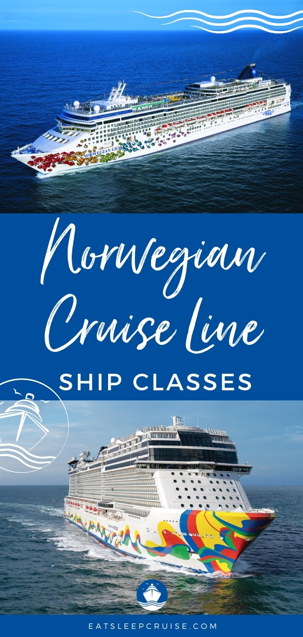 Guide to Norwegian Cruise Line Ship Classes
