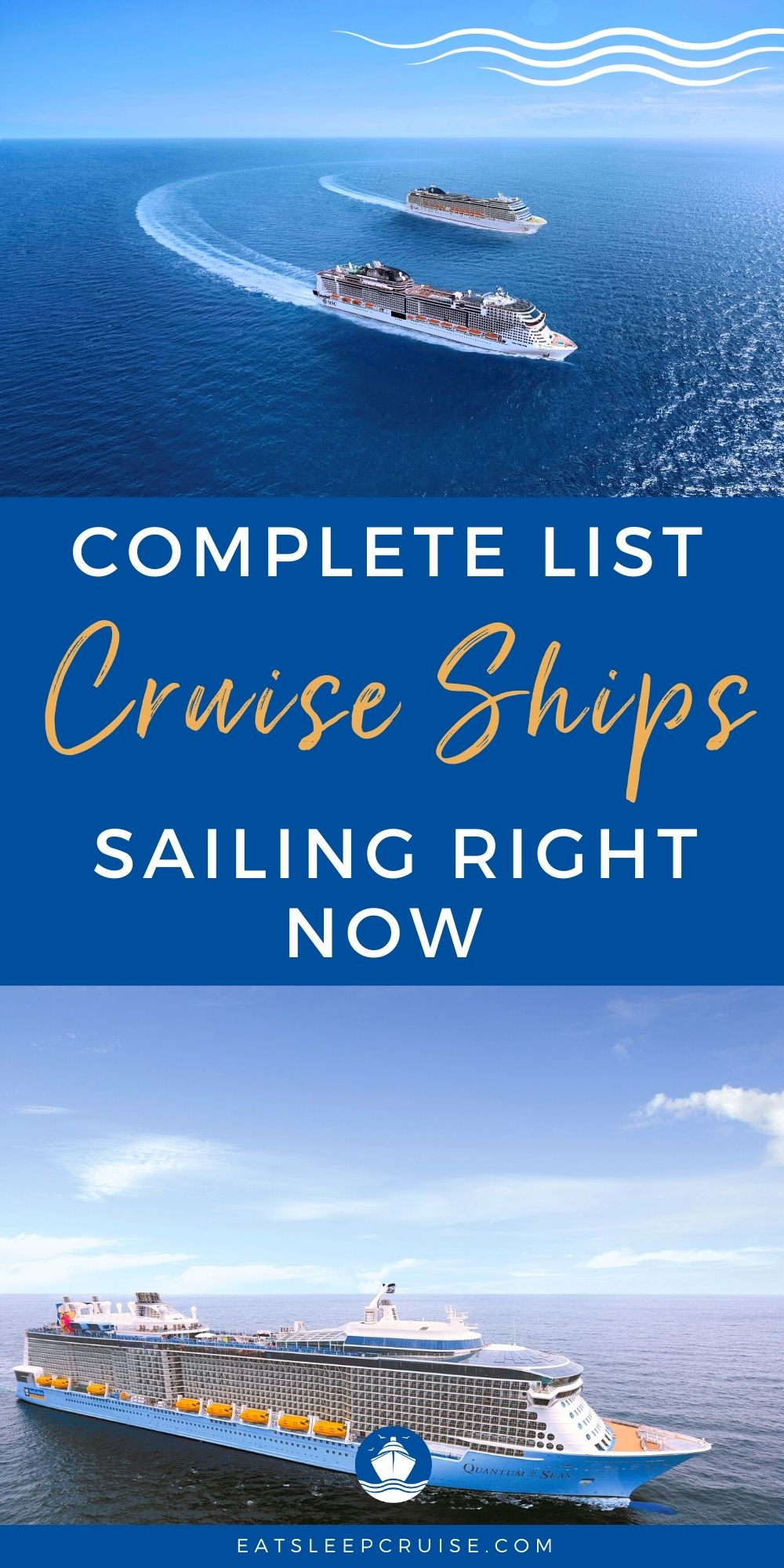 What Cruise Lines Are Sailing Right Now