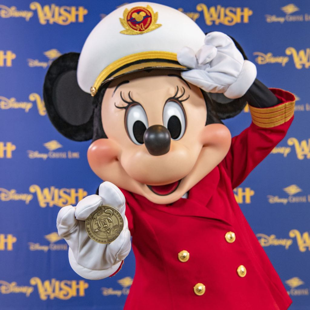 Keel Laying for Disney Wish