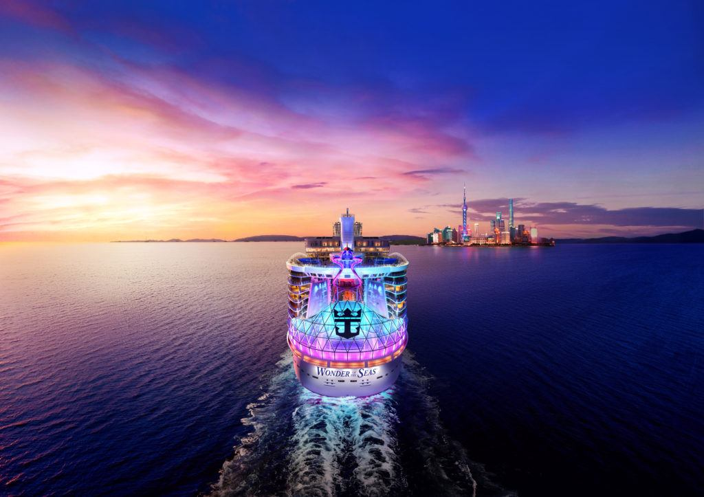 Wonder of the Seas China Sailings Open For Booking