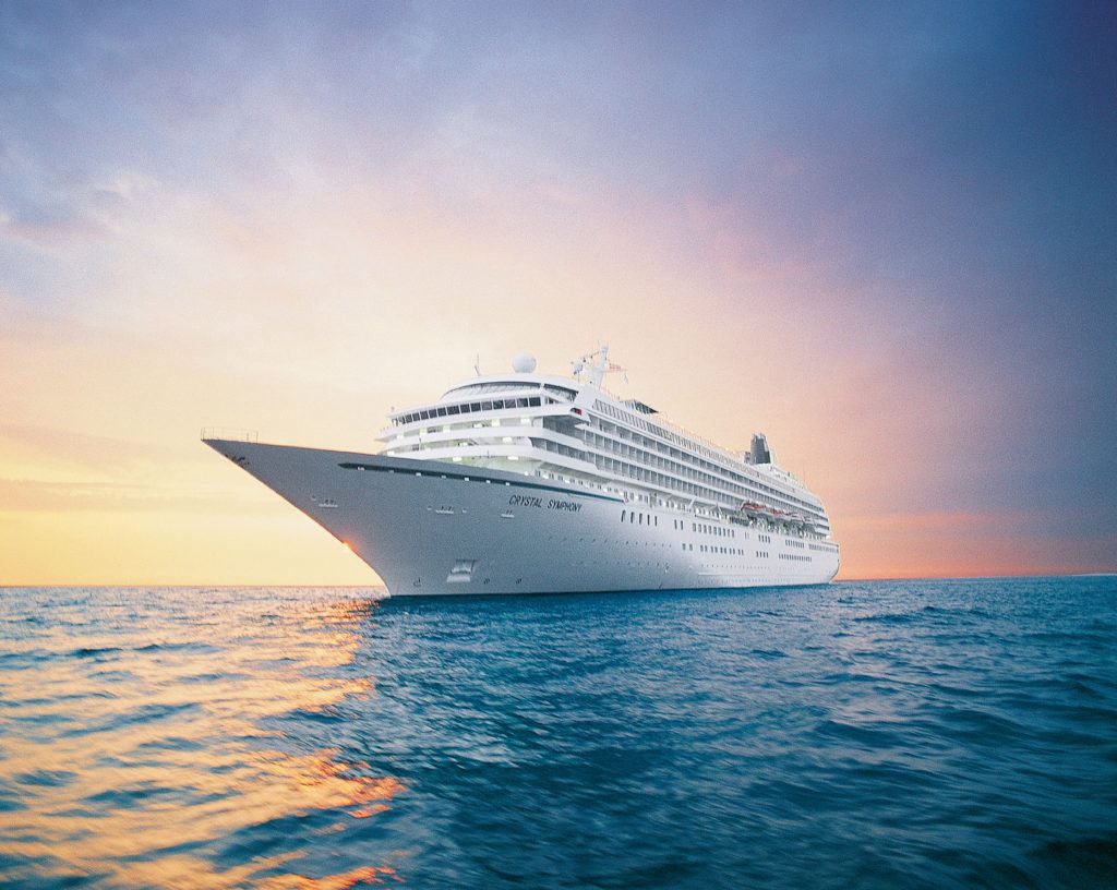 Crystal Symphony Will Sail from Antigua