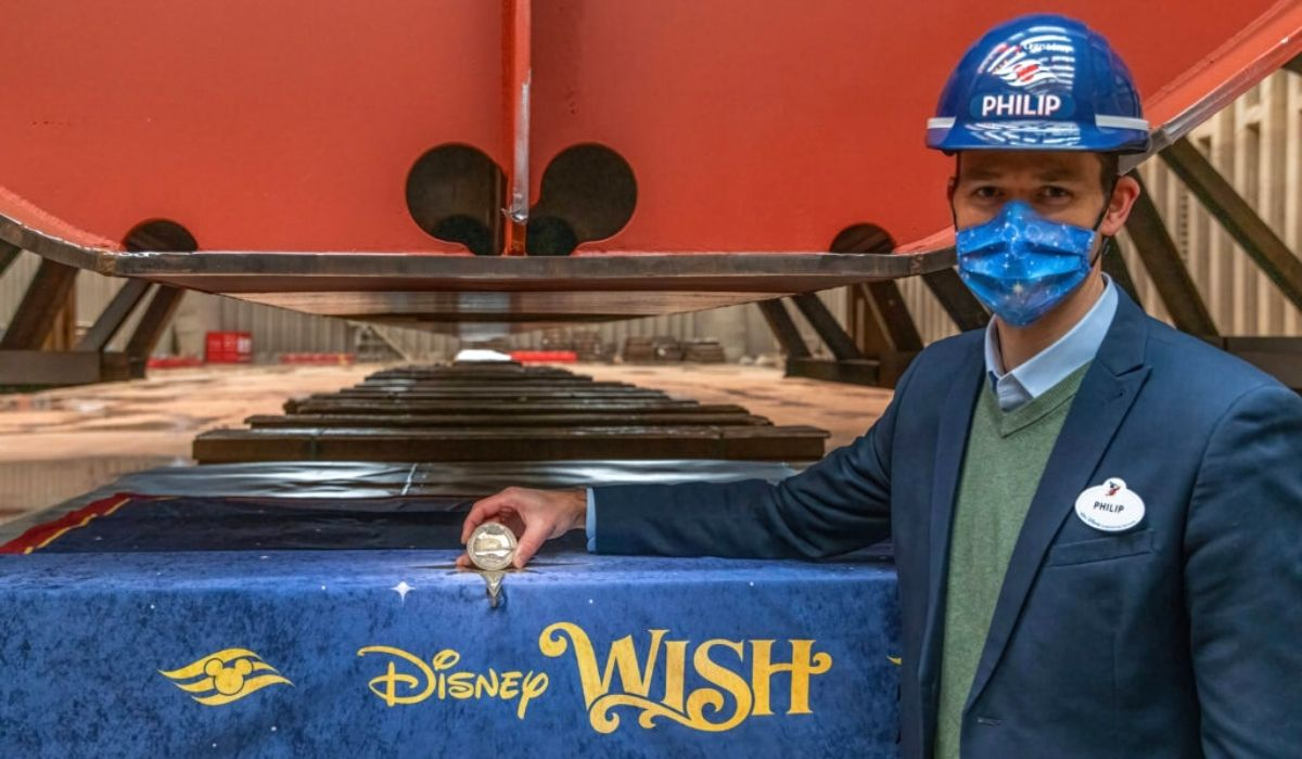 Disney Cruise Line Construction Milestone: Keel Laying for Disney Wish