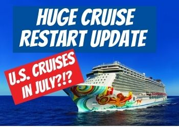 Norwegian Cruise Line Will resume in July