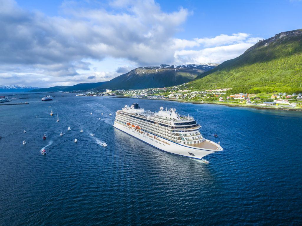 Viking Takes Delivery Of Newest Ocean Ship | Eat Sleep Cruise