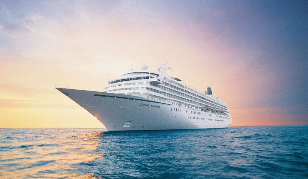 Crystal Symphony will sail from Antigua this summer