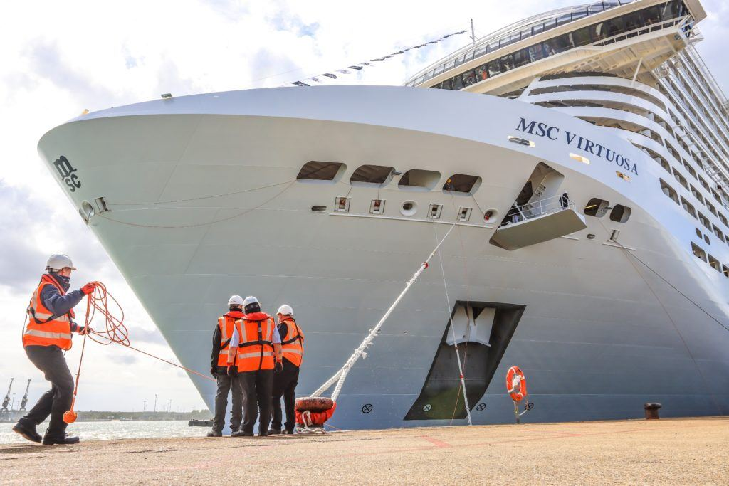 MSC Virtuosa Arrives in Southampton | Eat Sleep Cruise