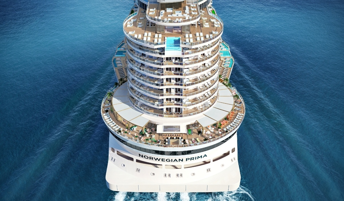 In this exclusive first look, we share everything we know about Norwegian Cruise Line's newest ship Norwegian Prima so far.