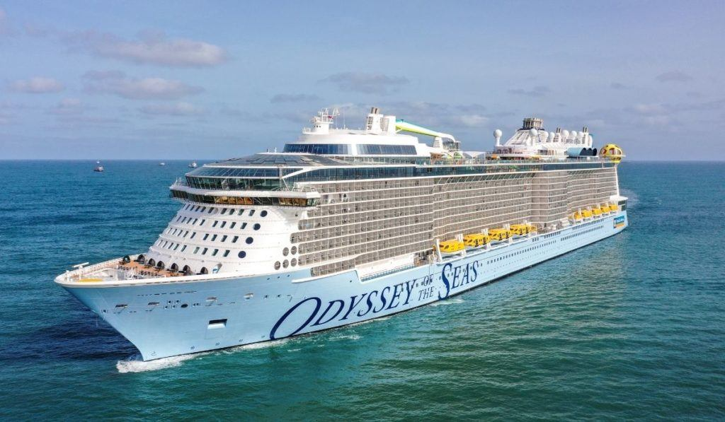 Odyssey of the Seas Arrives in the U.S.