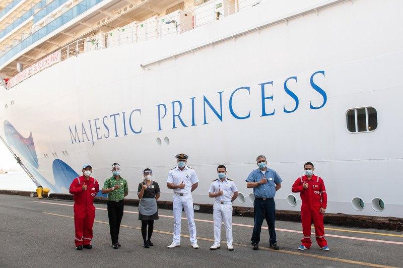 Princess Cruises Crew Get Vaccinated | Eat Sleep Cruise