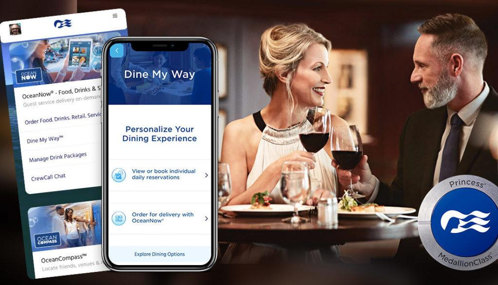 Princess Cruises Just Announced the New Dine My Way