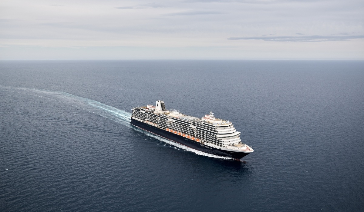 Holland America Line's New Rotterdam Completes Sea Trials