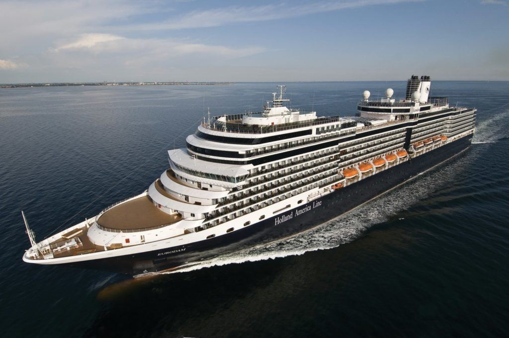 Four Holland America Ships to Transit the Panama Canal in 2022-2023