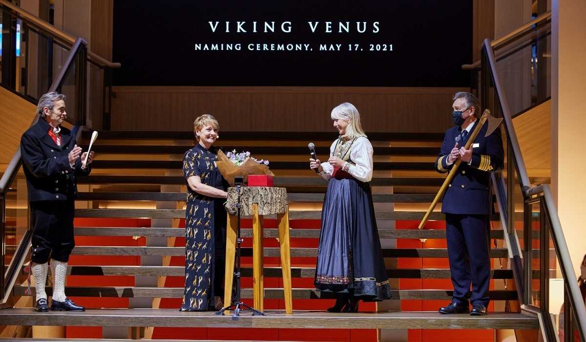 Viking Names Its Newest Ship in Advance of Inaugural Voyage