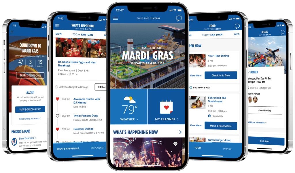 Carnival Cruise Line Expands HUB App Offerings