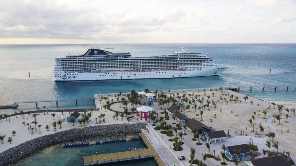 MSC Cruises Restart in U.S.