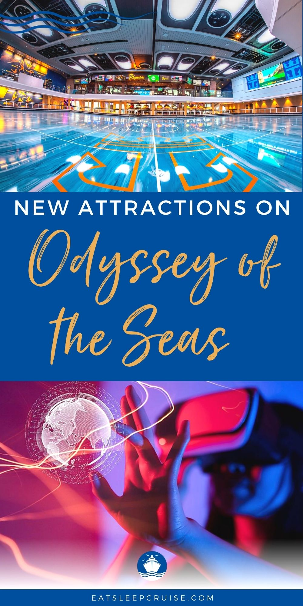 Virtual Reality Attraction Coming to Odyssey of the Seas
