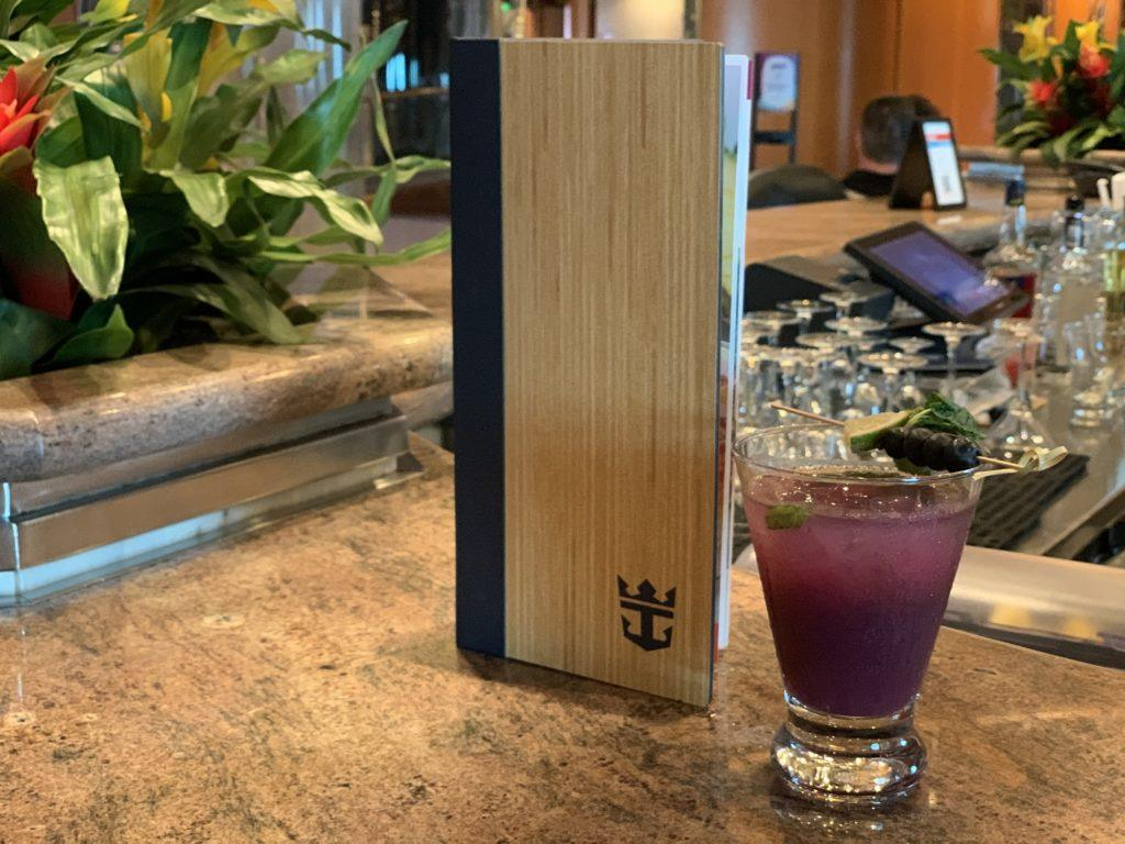 Brand New Royal Caribbean Bar Menu Revealed