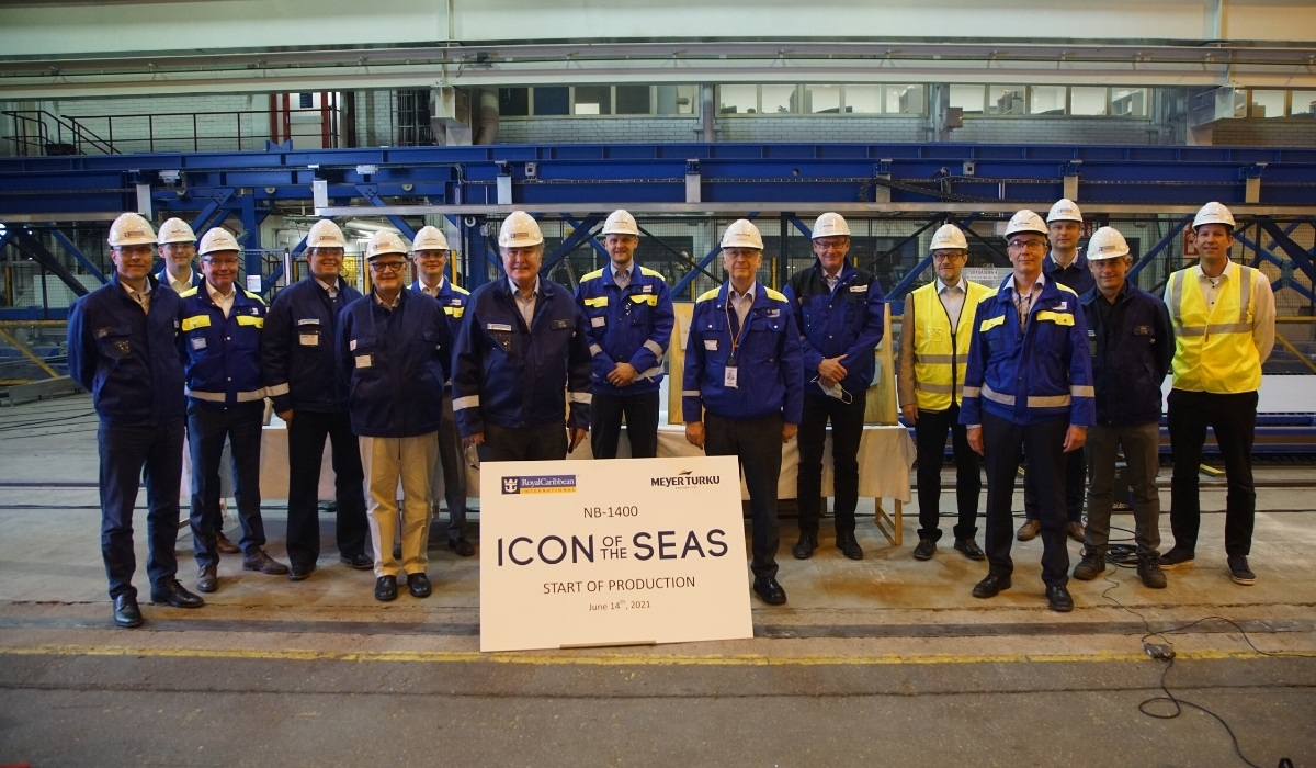 Royal Caribbean Starts Construction on Icon of the Seas