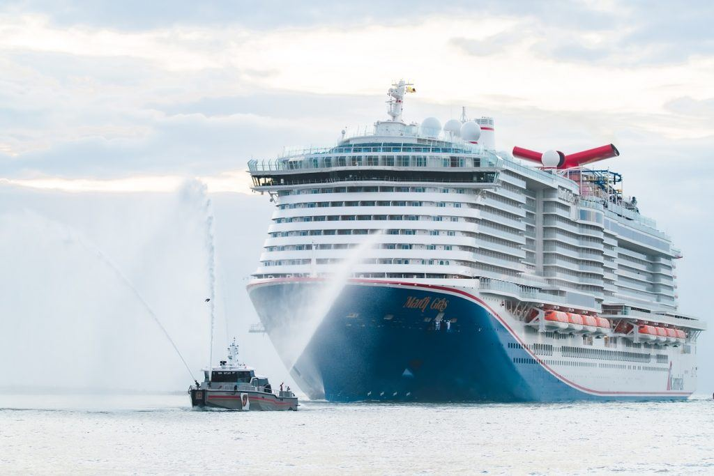 Carnival Cruise Line Confirms First Sailing For Mardi Gras