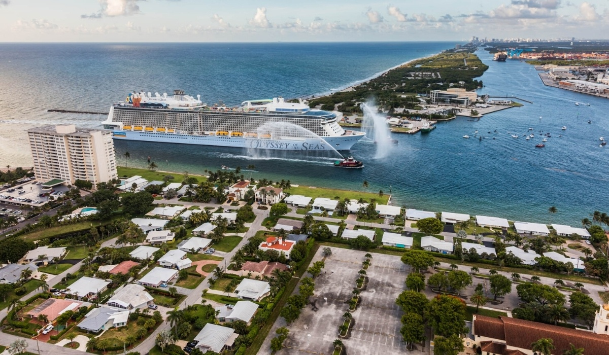 Odyssey of the Seas Arrives at Port Everglades
