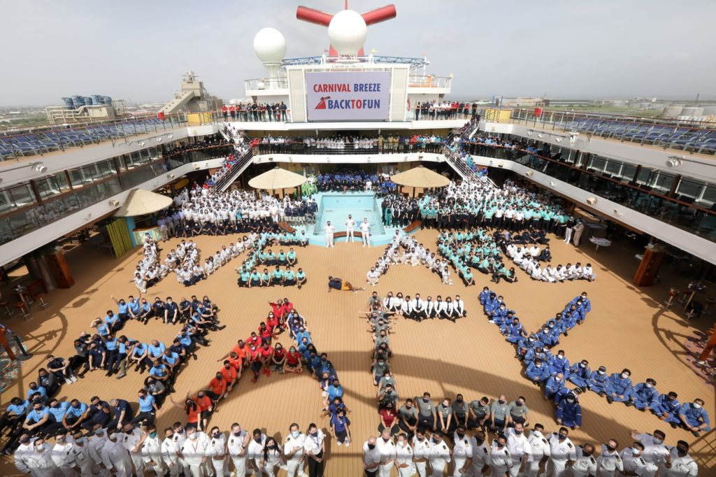 Carnival Breeze Returns to Service From Galveston   Eat Sleep Cruise