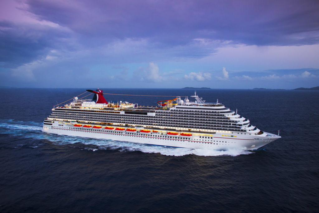 Carnival Breeze Returns to Service