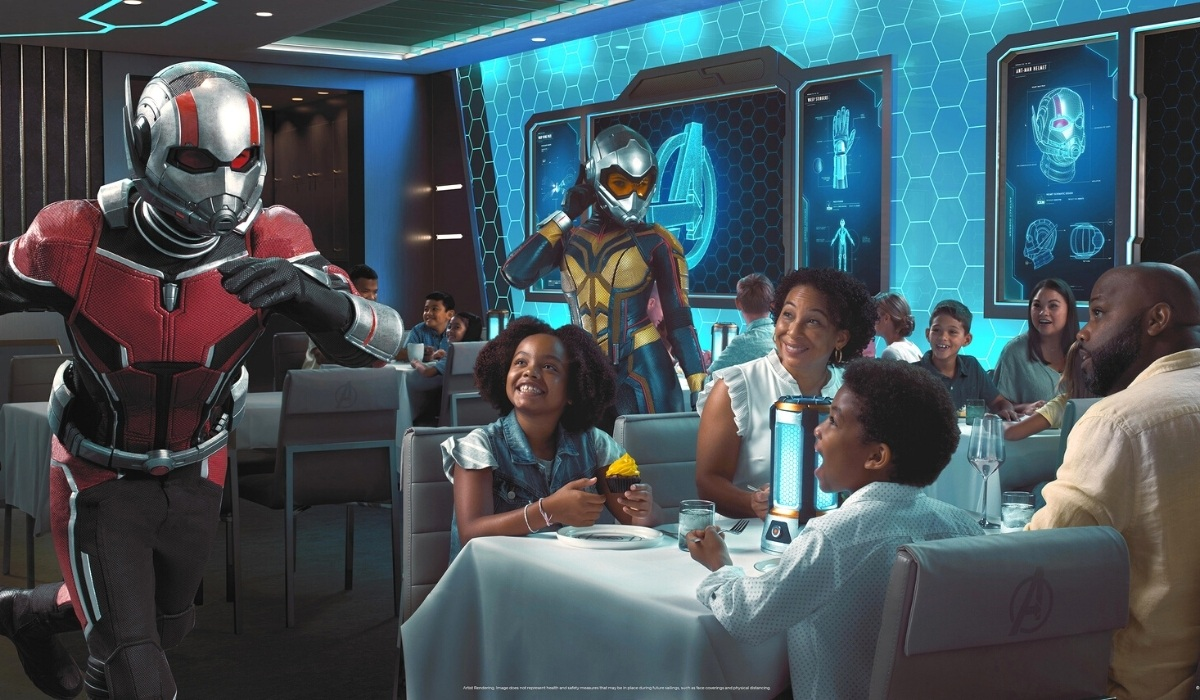Disney Wish to Premiere 'Avengers: Quantum Encounter' Dining Experience