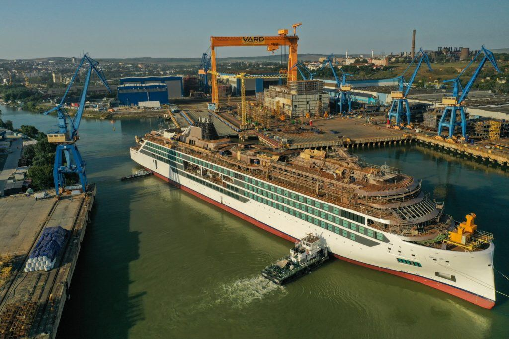 Viking Floats Out Second Expedition Ship | Eat Sleep Cruise
