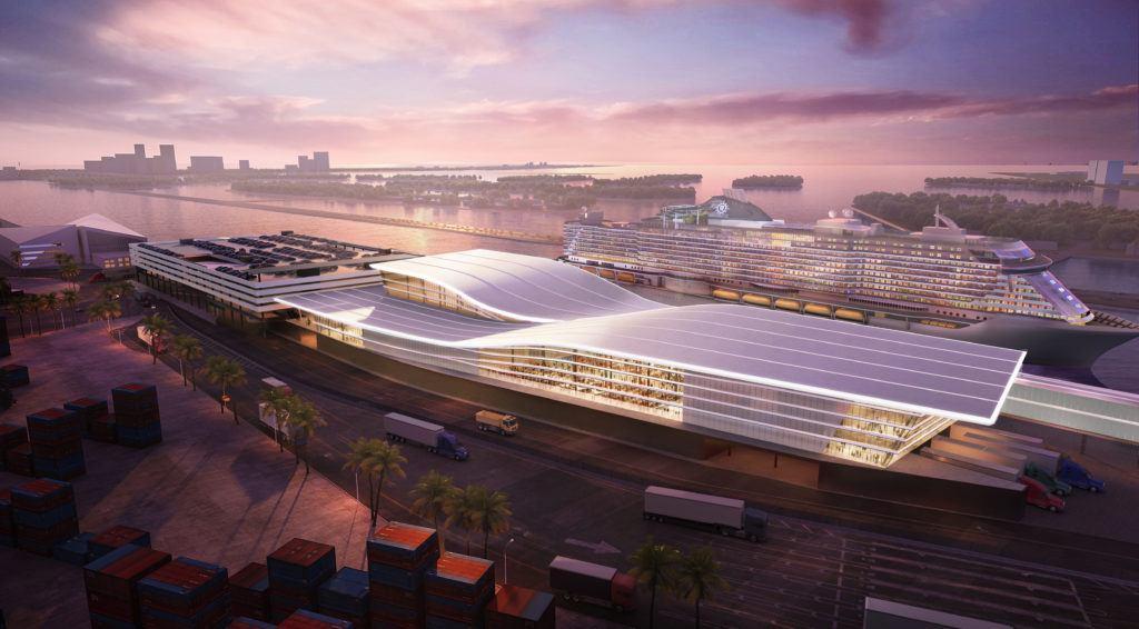 MSC Cruises and Fincantieri Partner for New Terminal at PortMiami