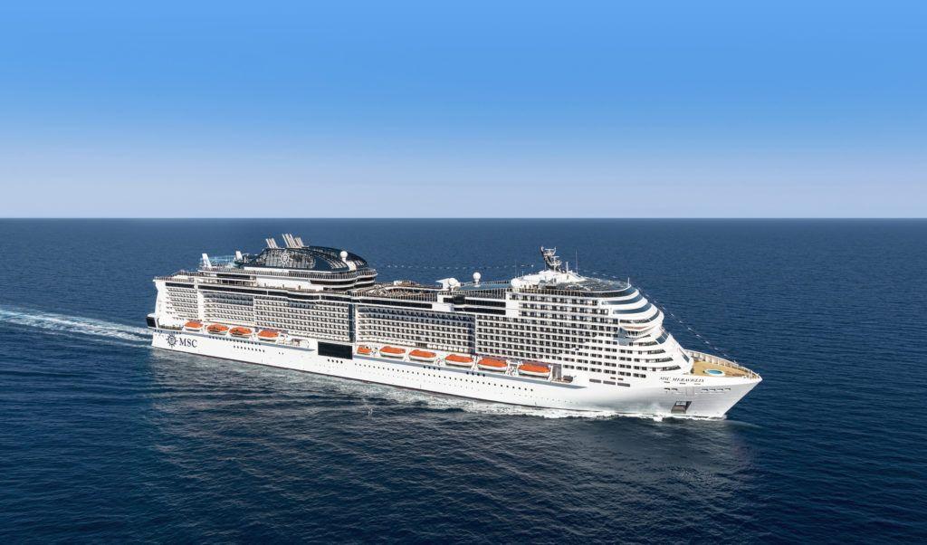 MSC Meraviglia Completes Test Cruise