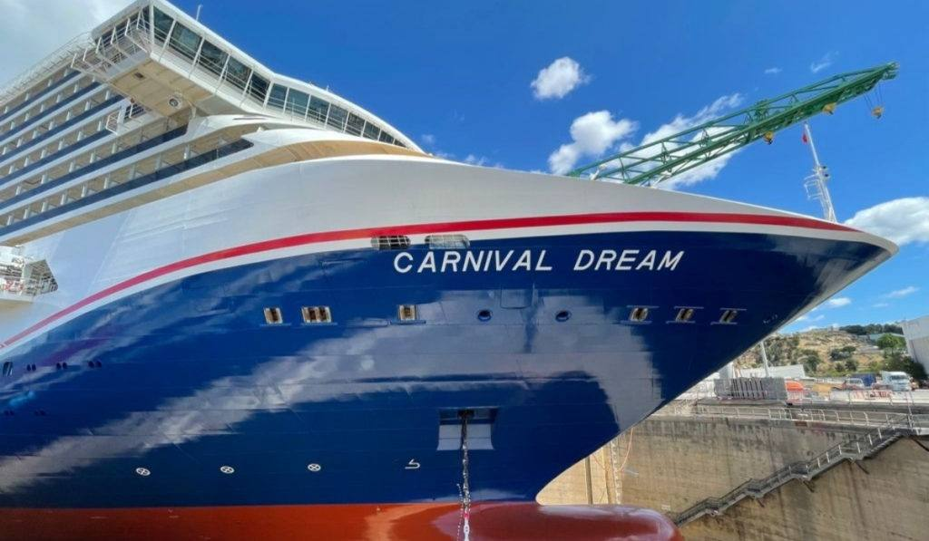 Carnival Dream Becomes Latest Ship to Receive New Hull Art