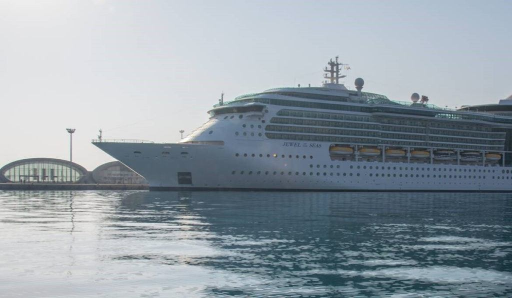 Jewel of the Seas Departs from Cyprus for the First Time Ever