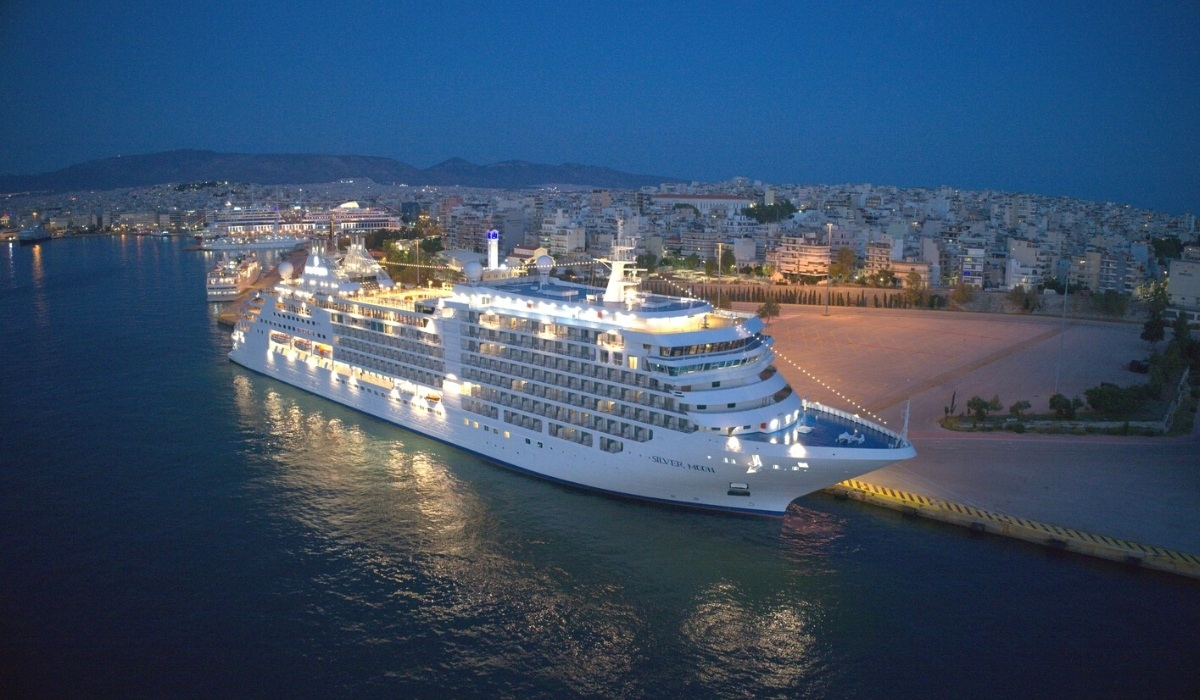 Silversea Names Newest Ship in Athens