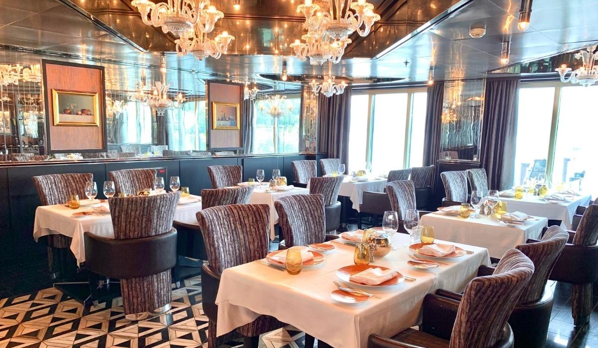 Holland America Line's Nieuw Amsterdam Restaurant Menus and Dining Guide