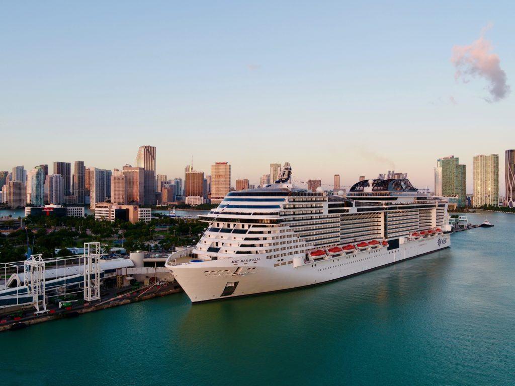 MSC Meraviglia Resumes Cruising From U.S.