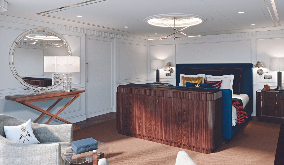 Oceania's New Ship to Be Styled With Ralph Lauren Home